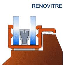 Double vitrage rénovation - As du Carreau
